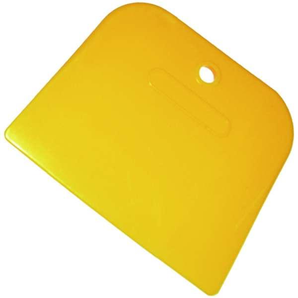 "4"" Yellow Plastic Spreaders- 100pcs./box-3952"