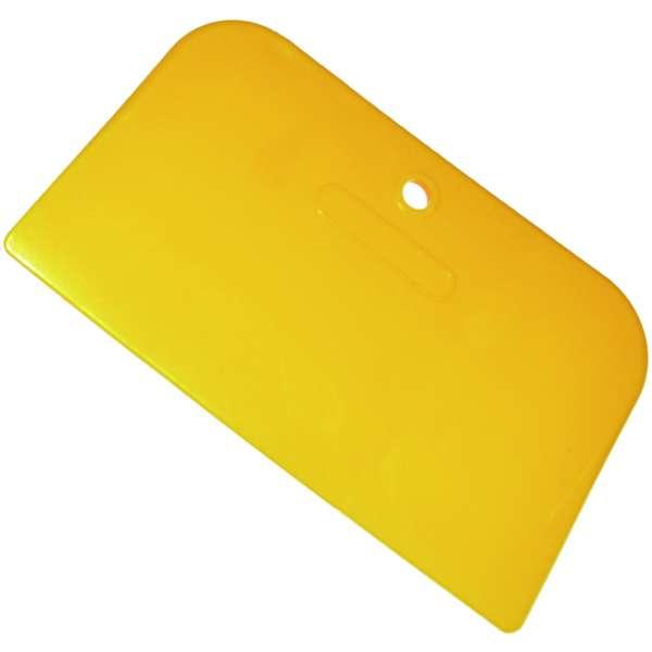 "6"" Yellow Plastic Spreaders- 100pcs./box-3955"