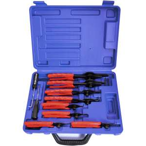 10pc. Snap Ring Pliers Set-0