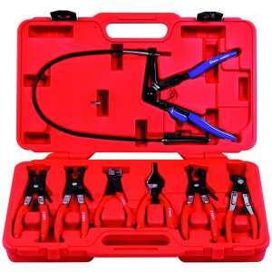 7pc. Hose Clamp Pliers Assortment Kit-0