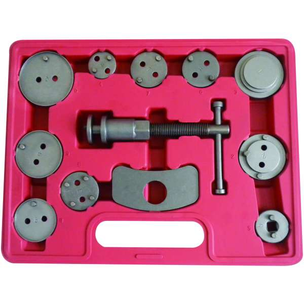 11pc. Disc Brake Pad & Caliper Service Tool Kit-0