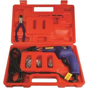 Hot Staple Gun Kit for Plastic Repair-0