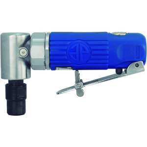 """Blue Composite Body 1/4"""" 90° Angle Die Grinder Front Exhaust - 20,000rpm-0"""