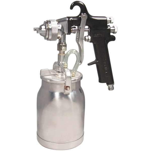 Spray Gun with Cup - Black Handle - 1.8mm Nozzle-0