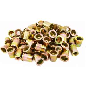 100pc 3/8-16 Steel Rivet Nuts-0