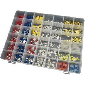 450pc Automotive Wiring Terminal Connector Kit-0