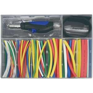 162pc Butane Micro Pencil Heat-Shrink Torch Kit-0