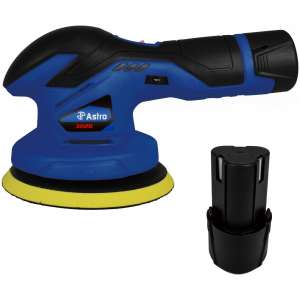 12V Cordless Variable Speed Palm Polisher with 2 Batteries-0