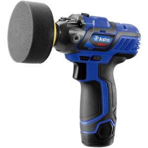 "12V 3"" Mini Cordless Pistol Polisher with 2 Batteries-0"